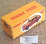 Dinky #161 Austin Somerset - Reproduction Box (  2-tone, White & Black finish )
